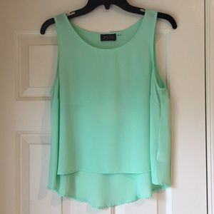 ASTR mint green tank top! Excellent Condition!!